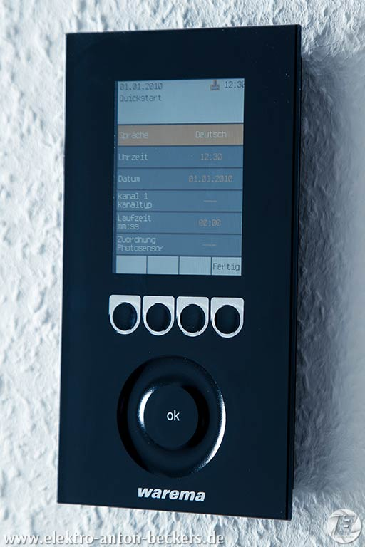 Sicherheit-Sensorensteuerung